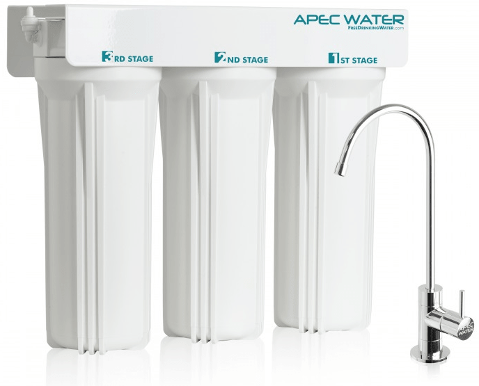 Apec Water WFS 1000 3 stage under sink water filter