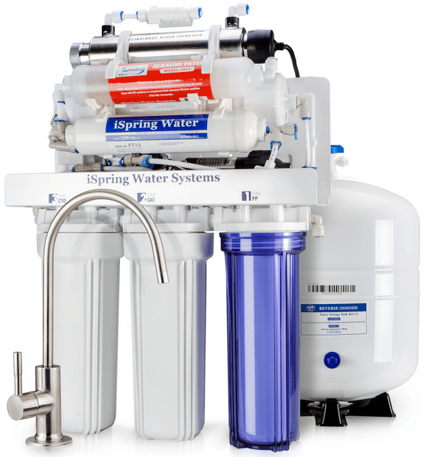 iSpring RCC1UP AK 7 Stage Reverse Osmosis System