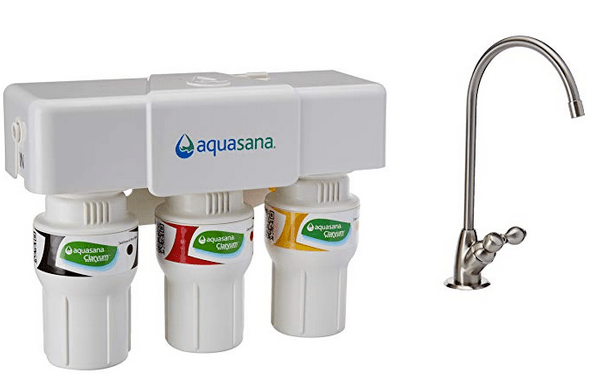 Aquasana AQ5300 under sink water filter review - ACW