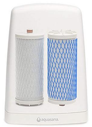 Aquasana AQ 4000 - filters arrangment