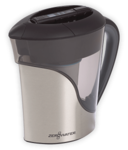 Stainless Steel Water filter pitcher from ZeroWater-min