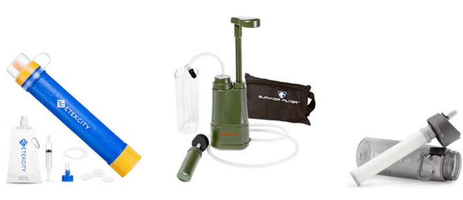 Best Portable Water FIlter Reviews and Buying Guide ACW